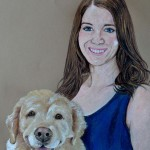 Sarah and Cassie, Golden Retriever